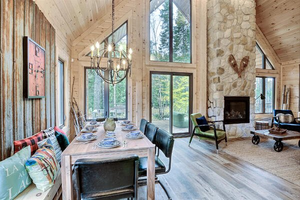 Timber Block Exterior Living Room
