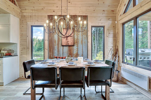 Timber Block Eastman Dining Room