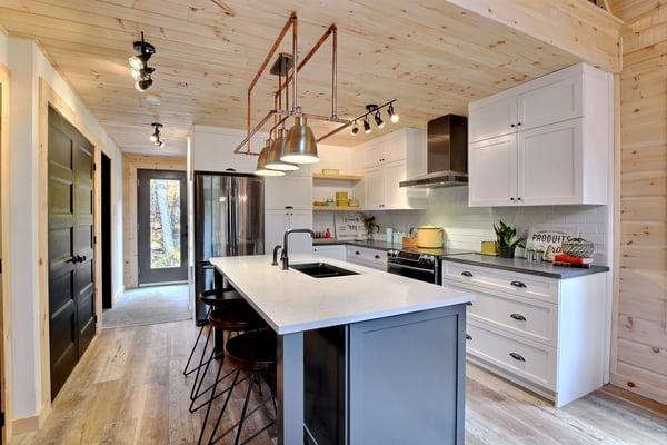 Timber Block Eastman Kitchen Design