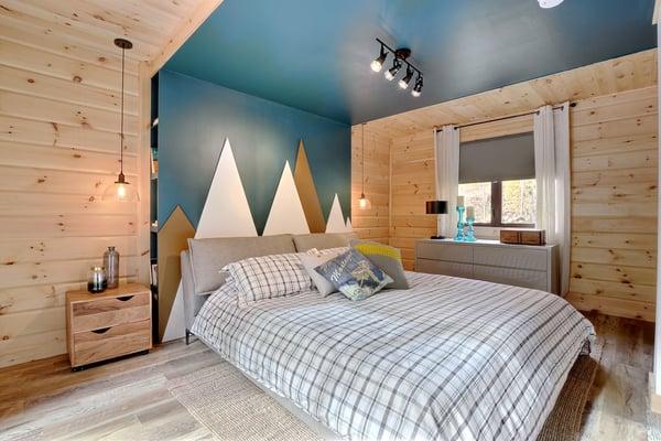 Timber Block Eastman Master Bedroom