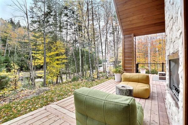 Timber Block Eastman Patio Exterior