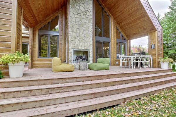 Timber Block Eastman exterior deck