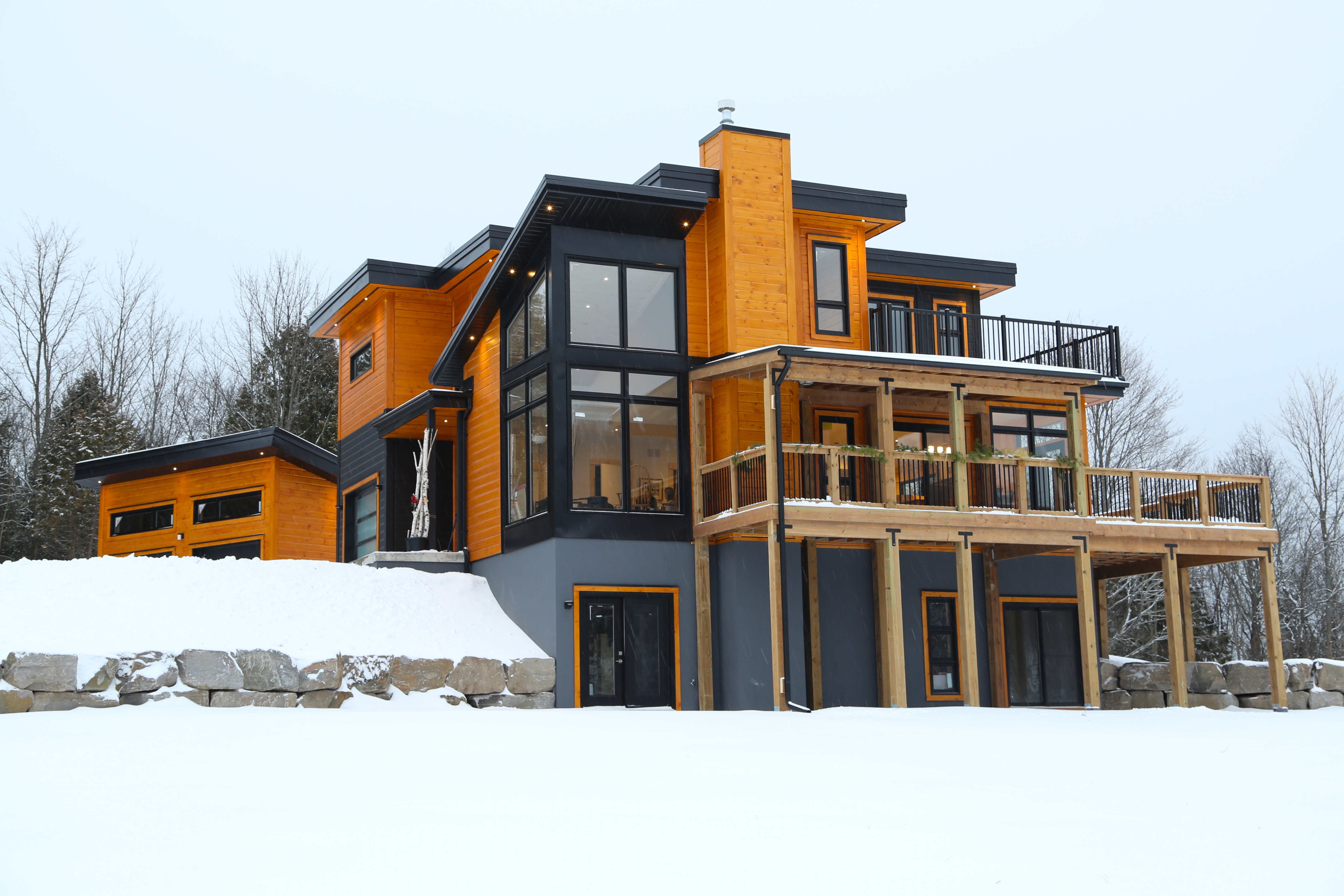 Custom Timber Block Contemporary