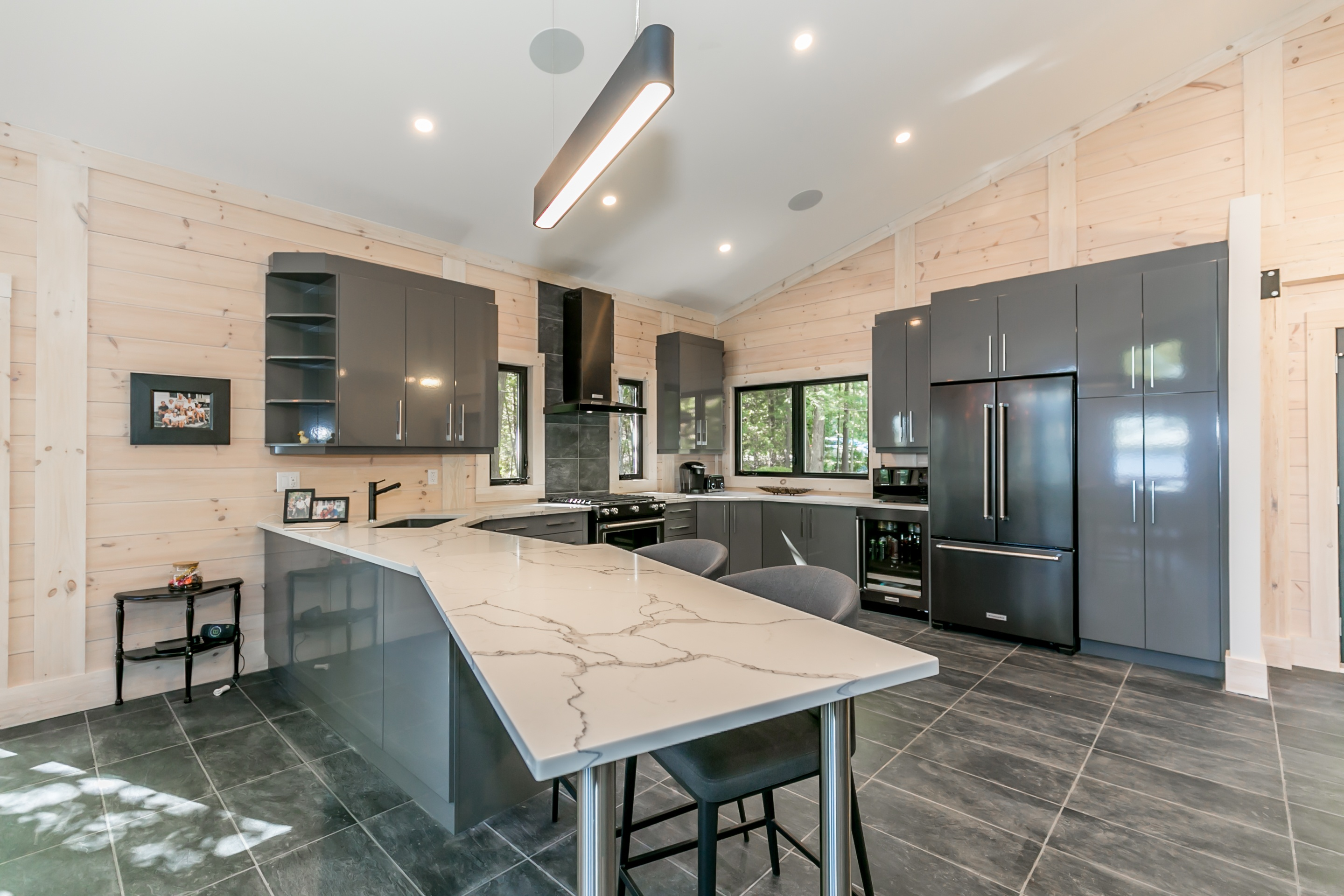 contemporary kitchen Timber Block