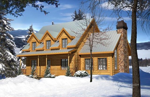 Timber Block Adirondack model