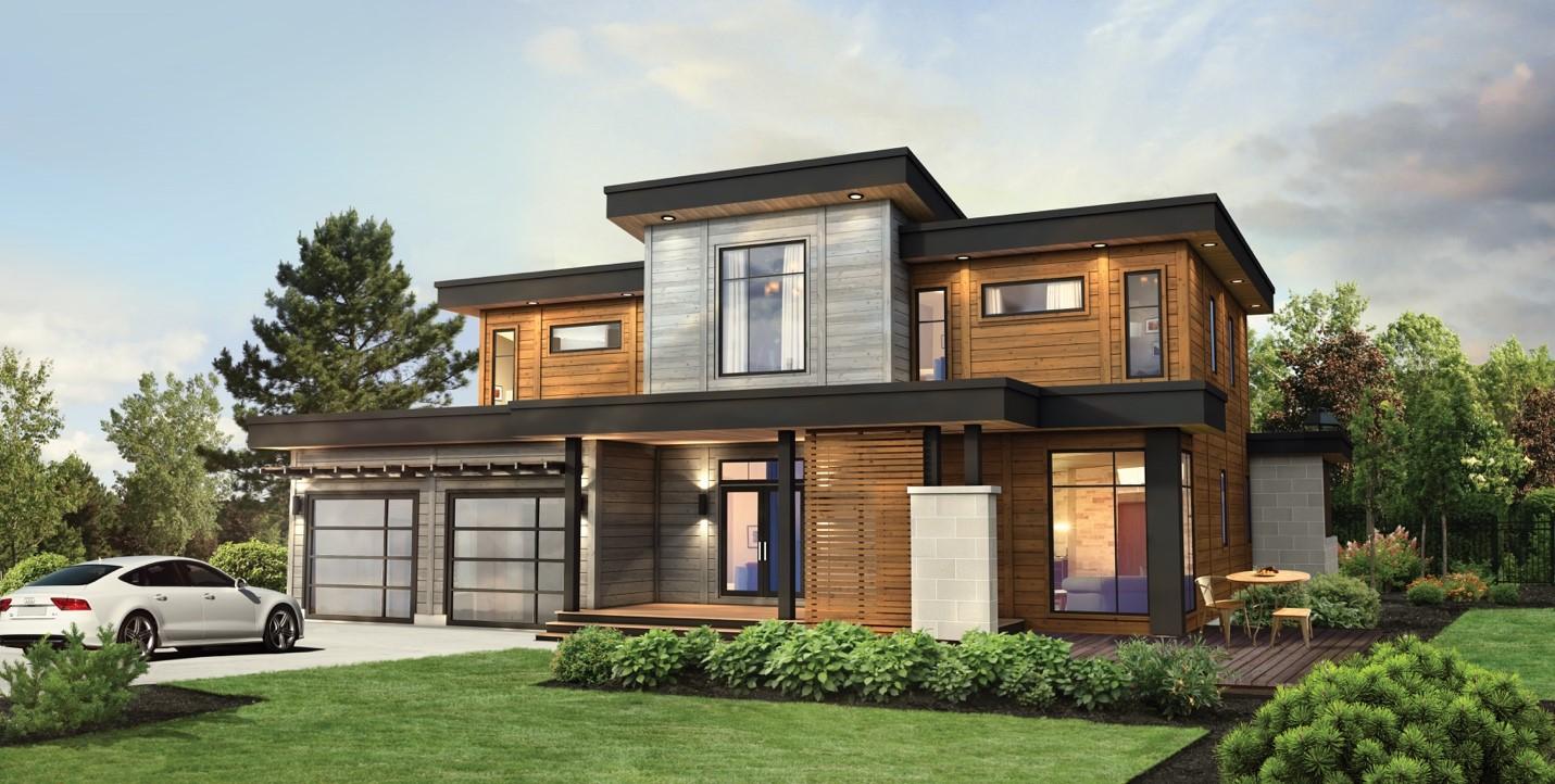 Timber Block Home Show Contemporary