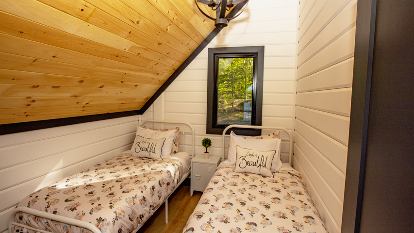 Timber Block loft space