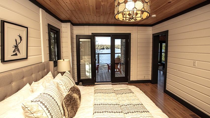 Timber Block bedroom