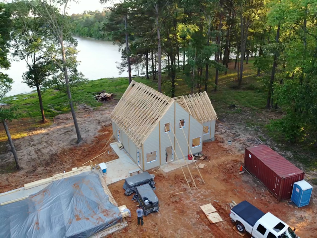 Texas Timber Block Construction