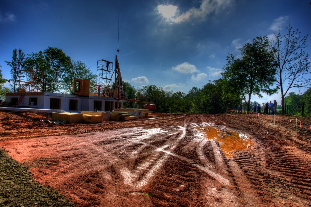 Timber Block home construction