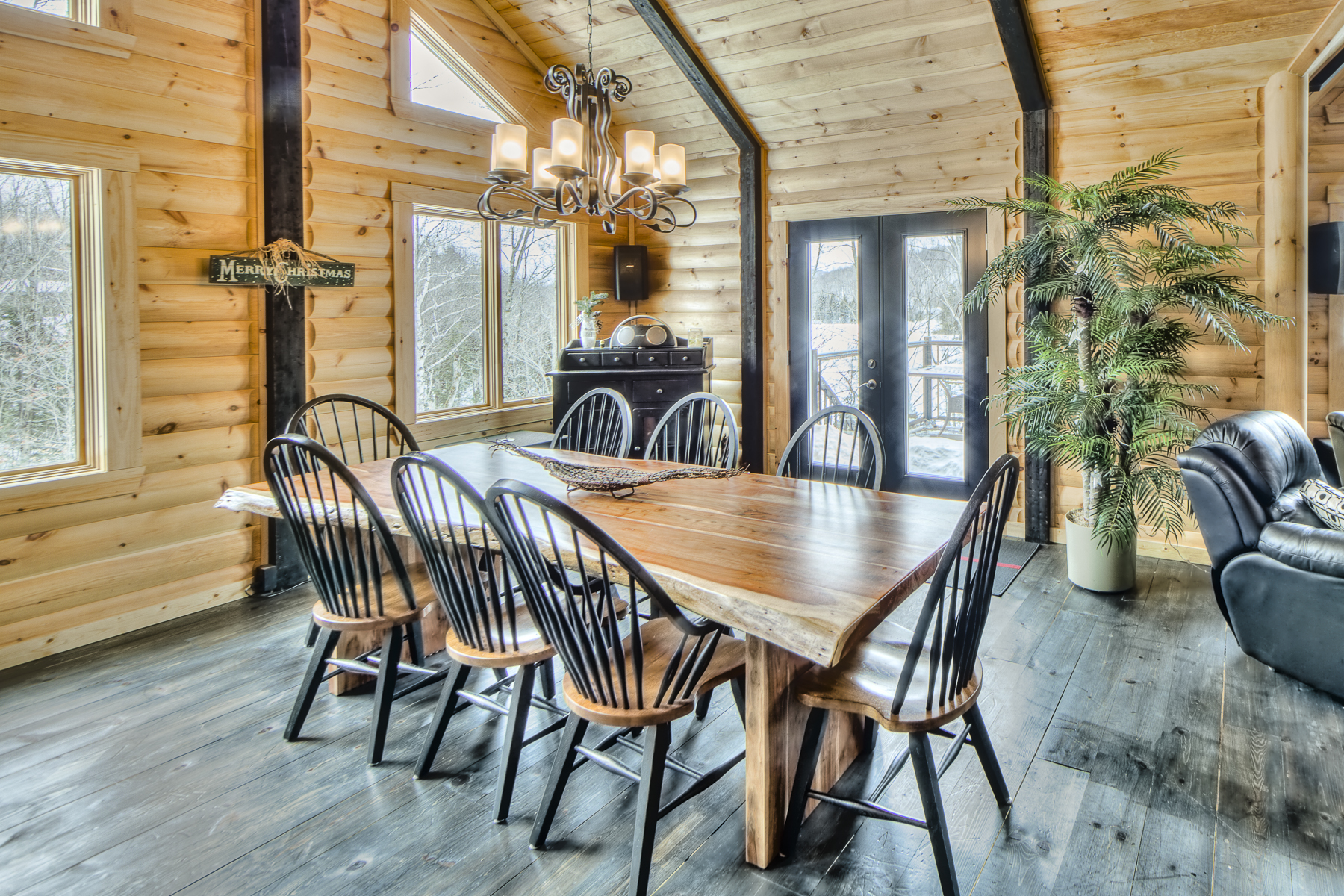 Christmas-dining room