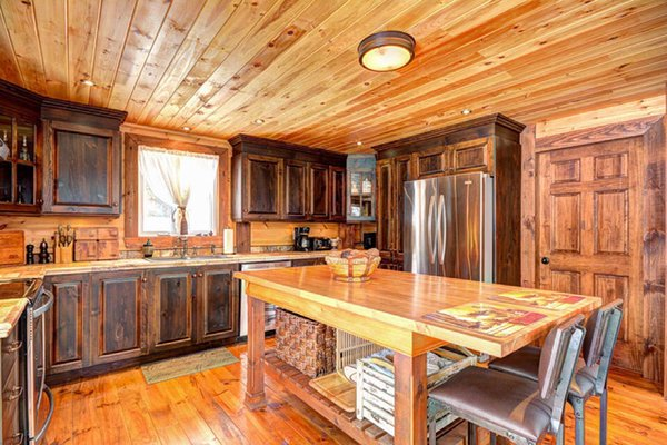 Classic home kitchen Timber Block design