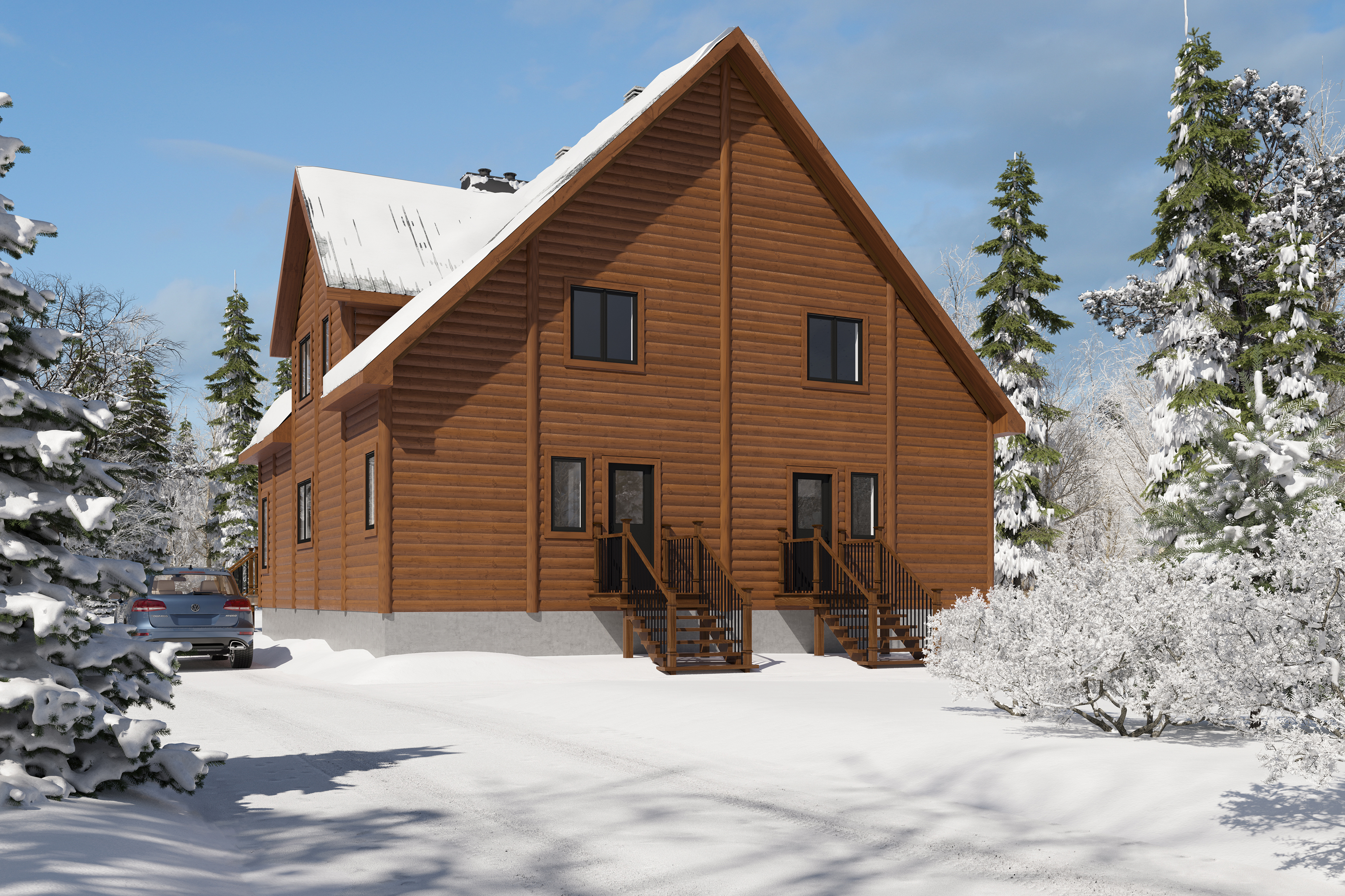 Timber Block Colorado front exterior