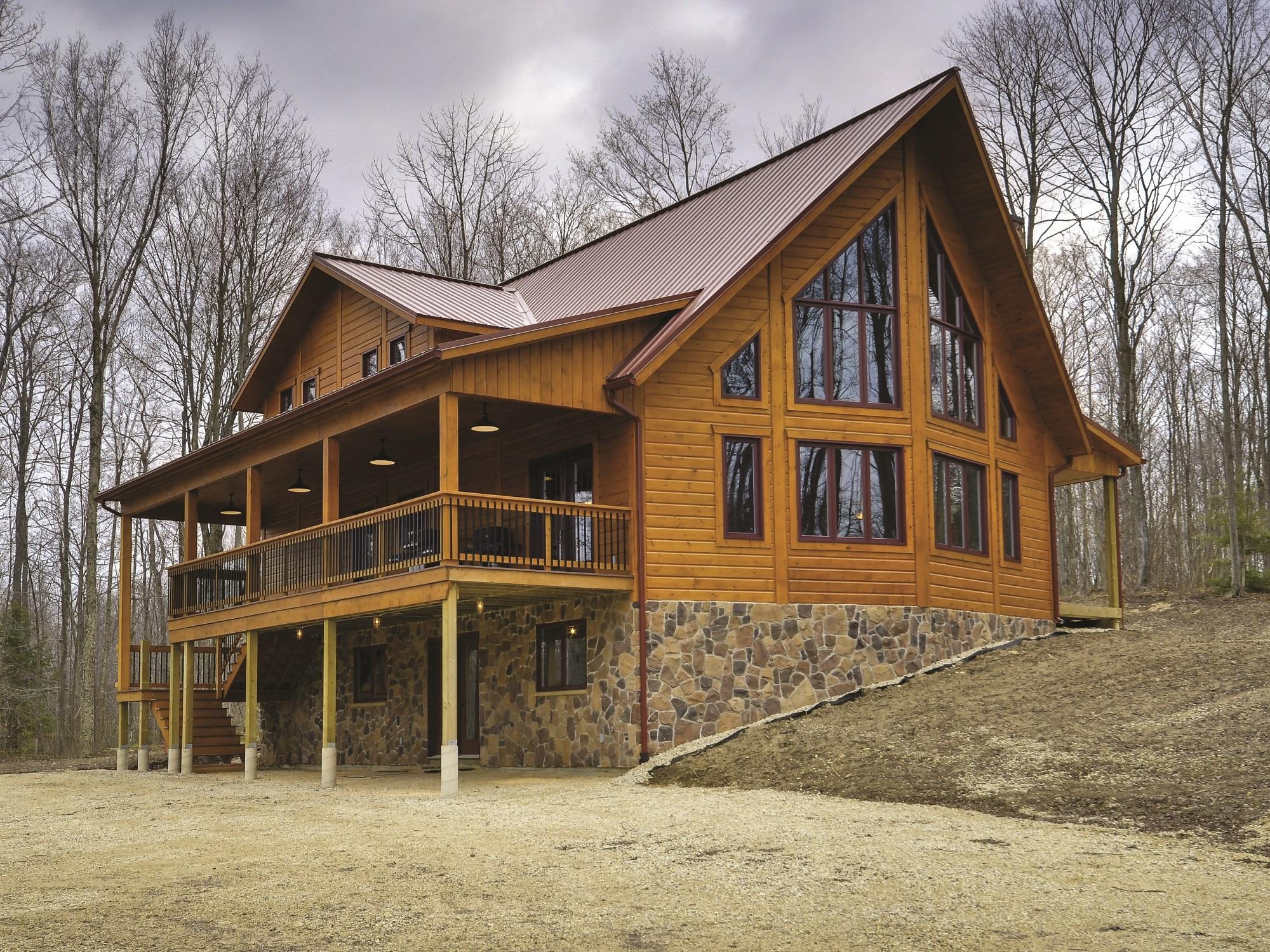 Custom Timber Block Home