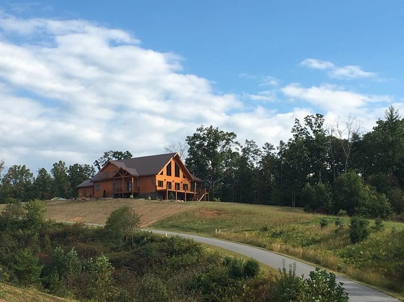 Timber Block home log cottage cabin