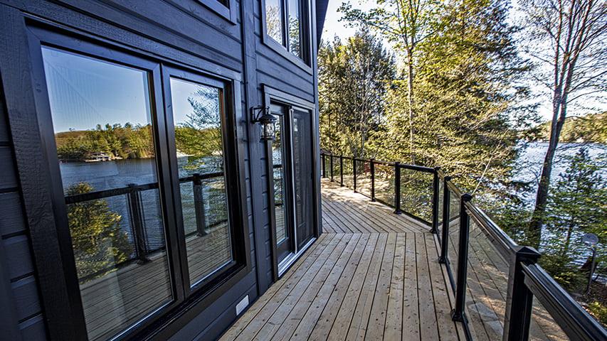 Timber Block Deck