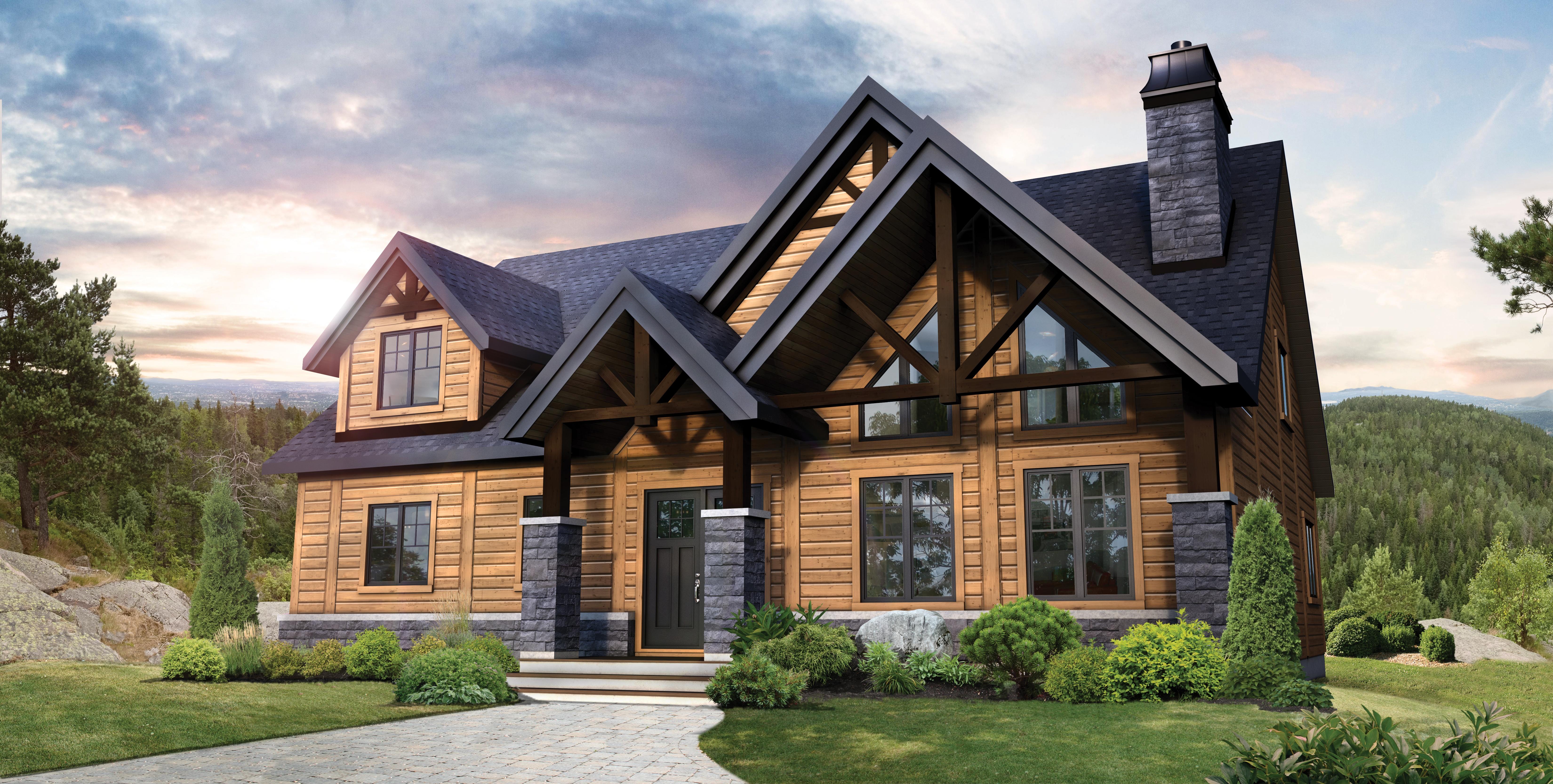 Timber Block NC denali craftsman home