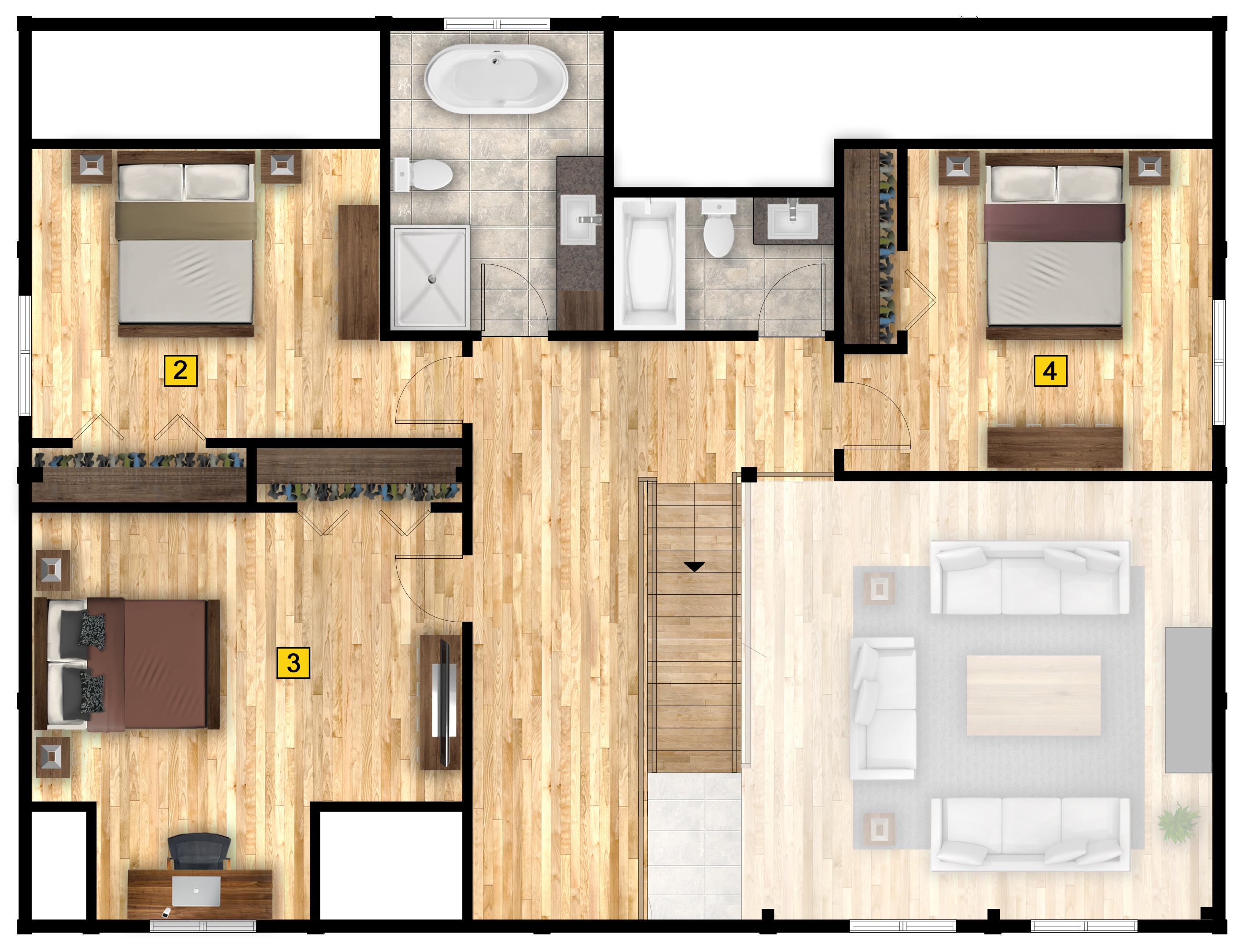 Denali floor plan 2