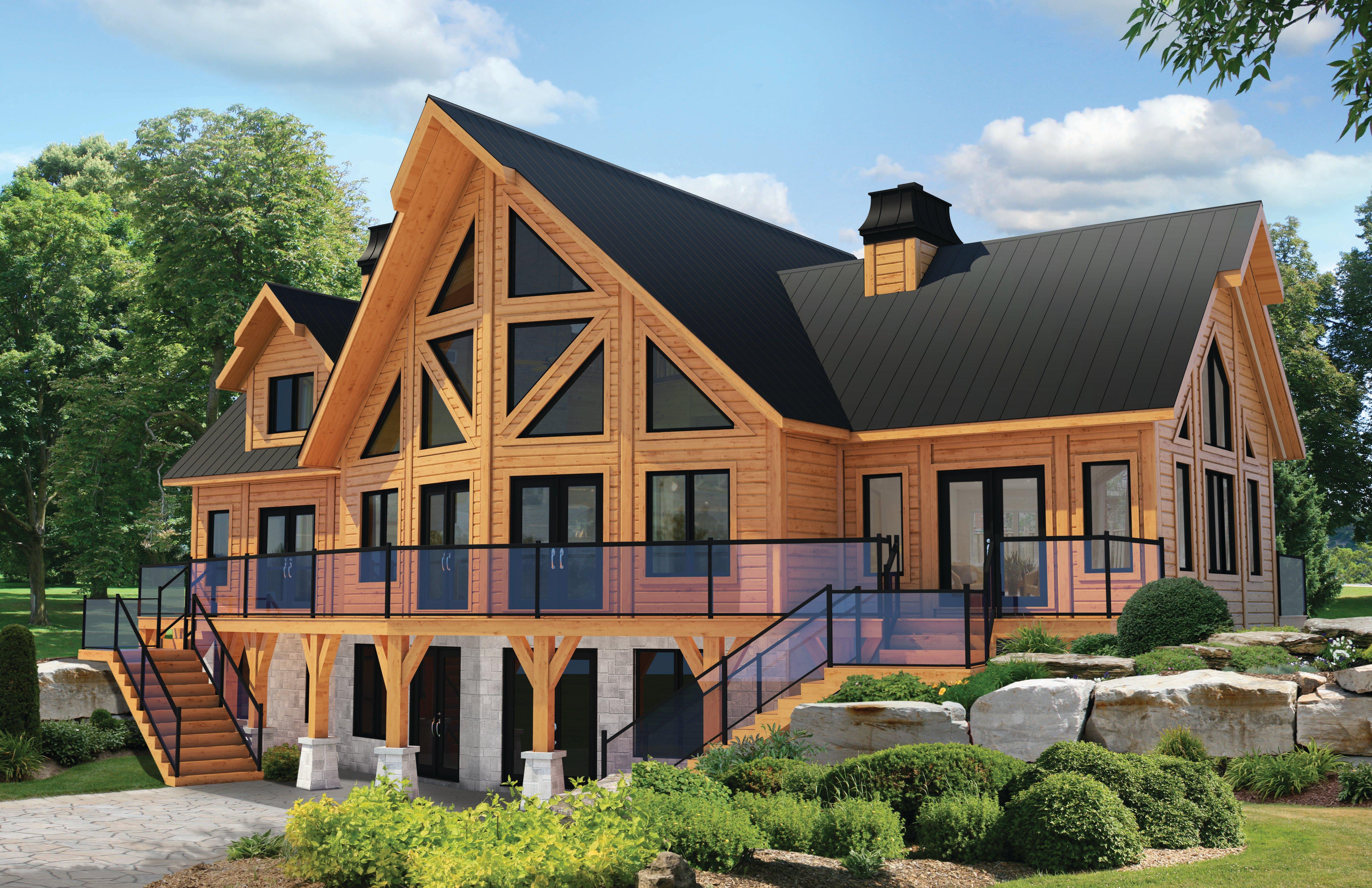 Timber Block Denver Model