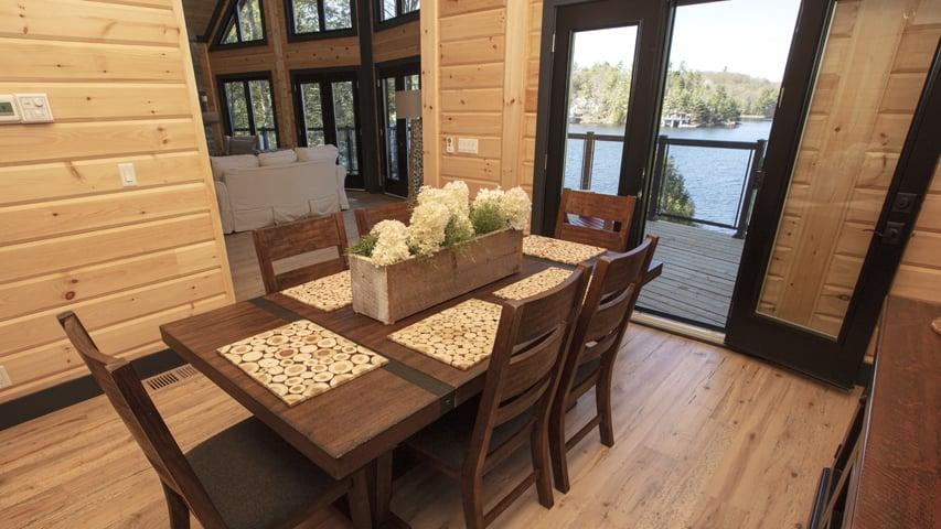 Dining room Timber Block