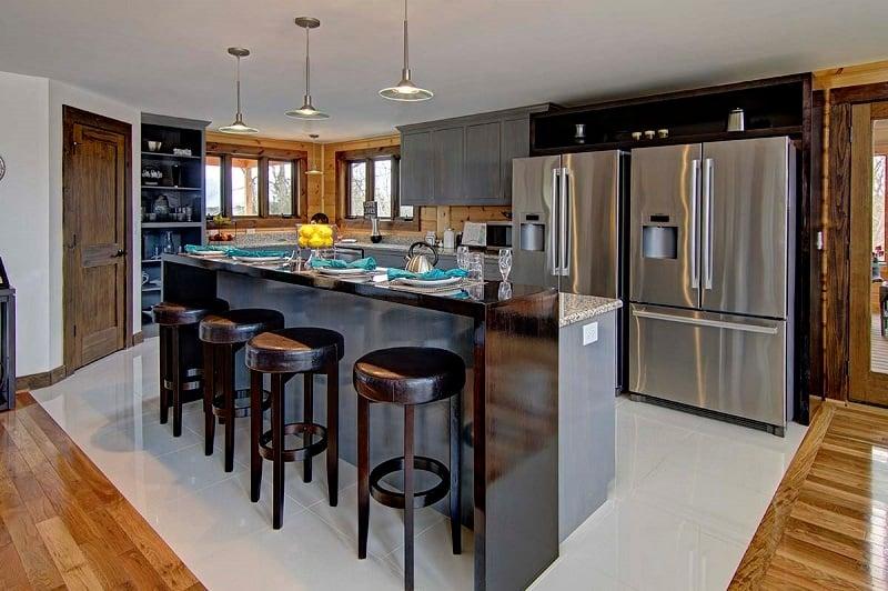 Timber Block Denver Custom Home Kitchen