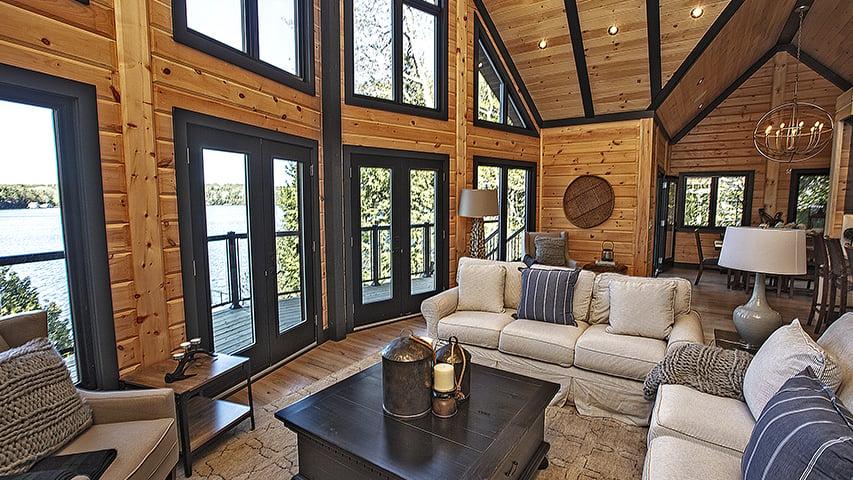 Timber Block custom dakota inside