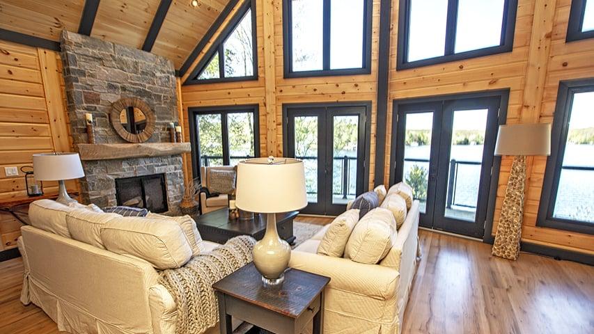 Timber Block Dakota Living Room New