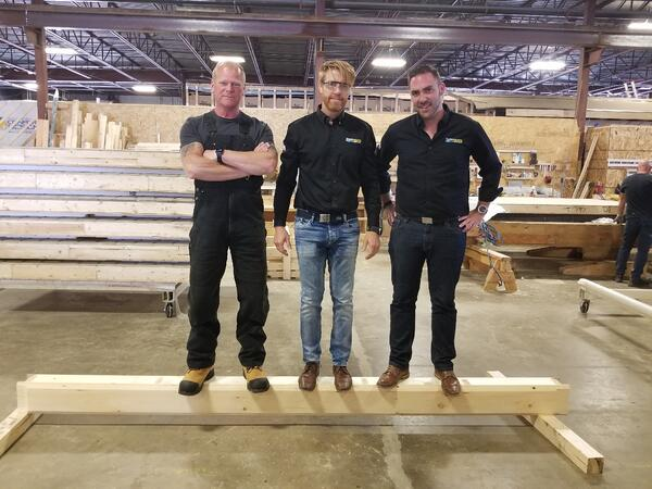 Mike Holmes and Timber Block
