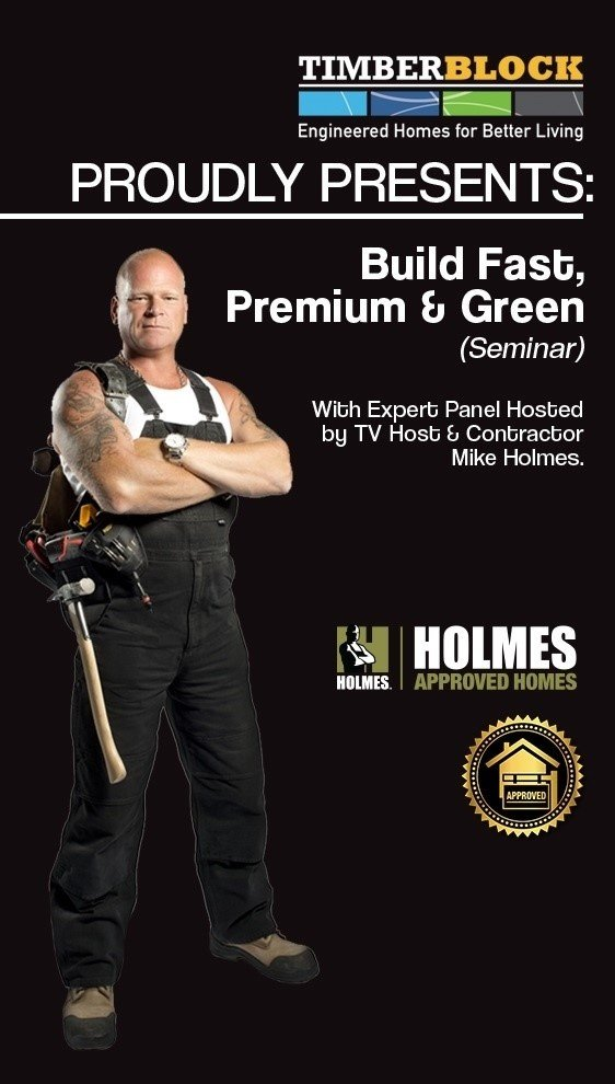 Timber Block IBS 2018 Mike Holmes