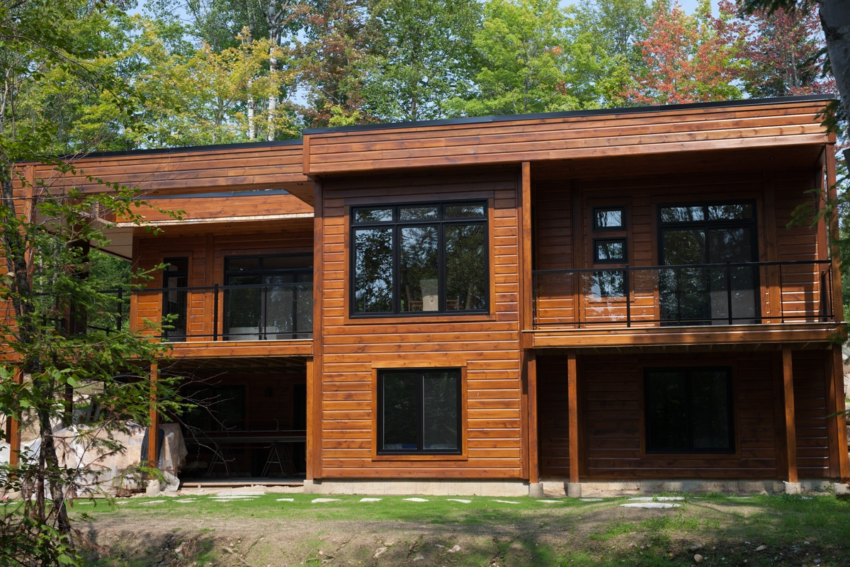 Timber Block Contemporary Homes