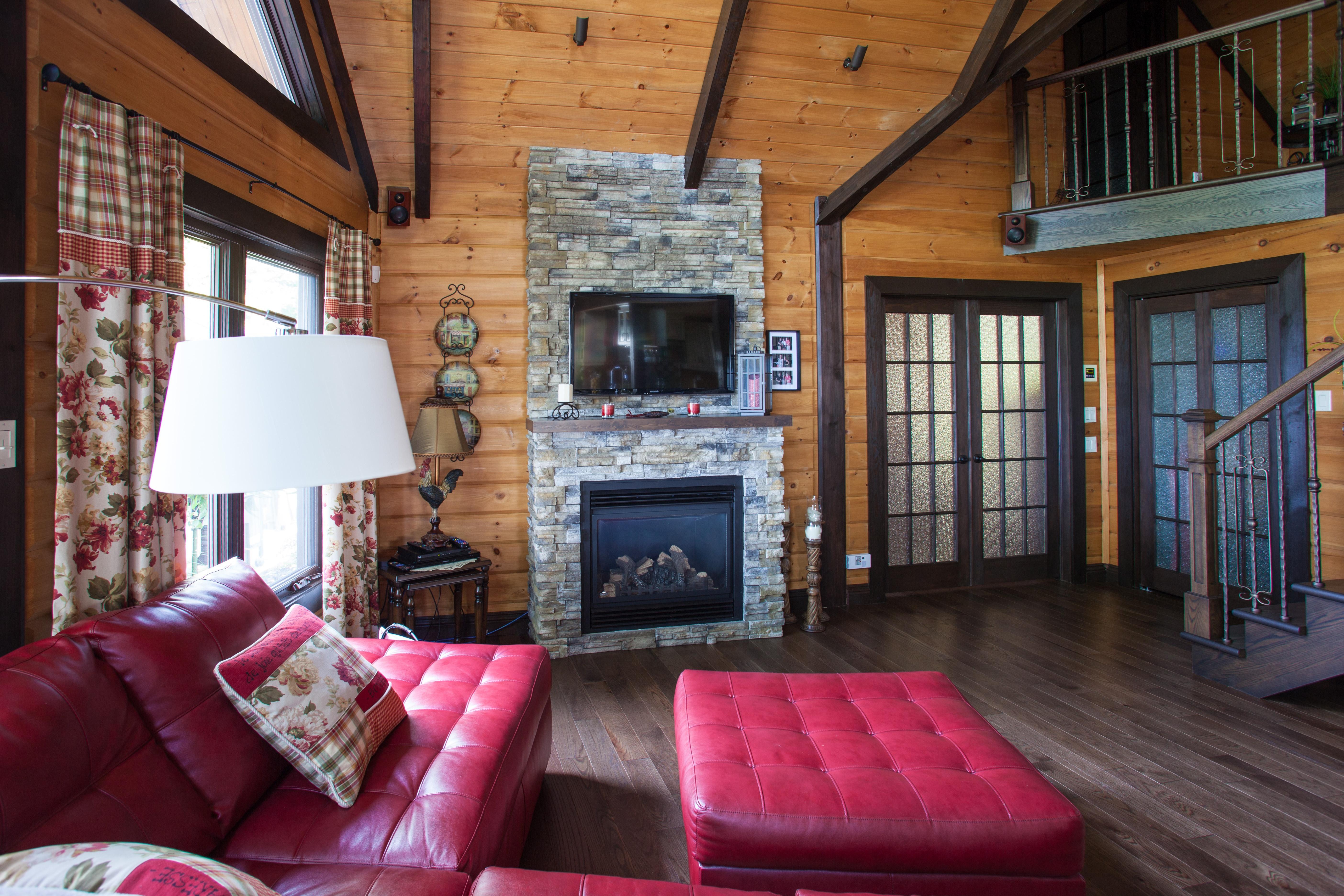 Timber Block homes interior