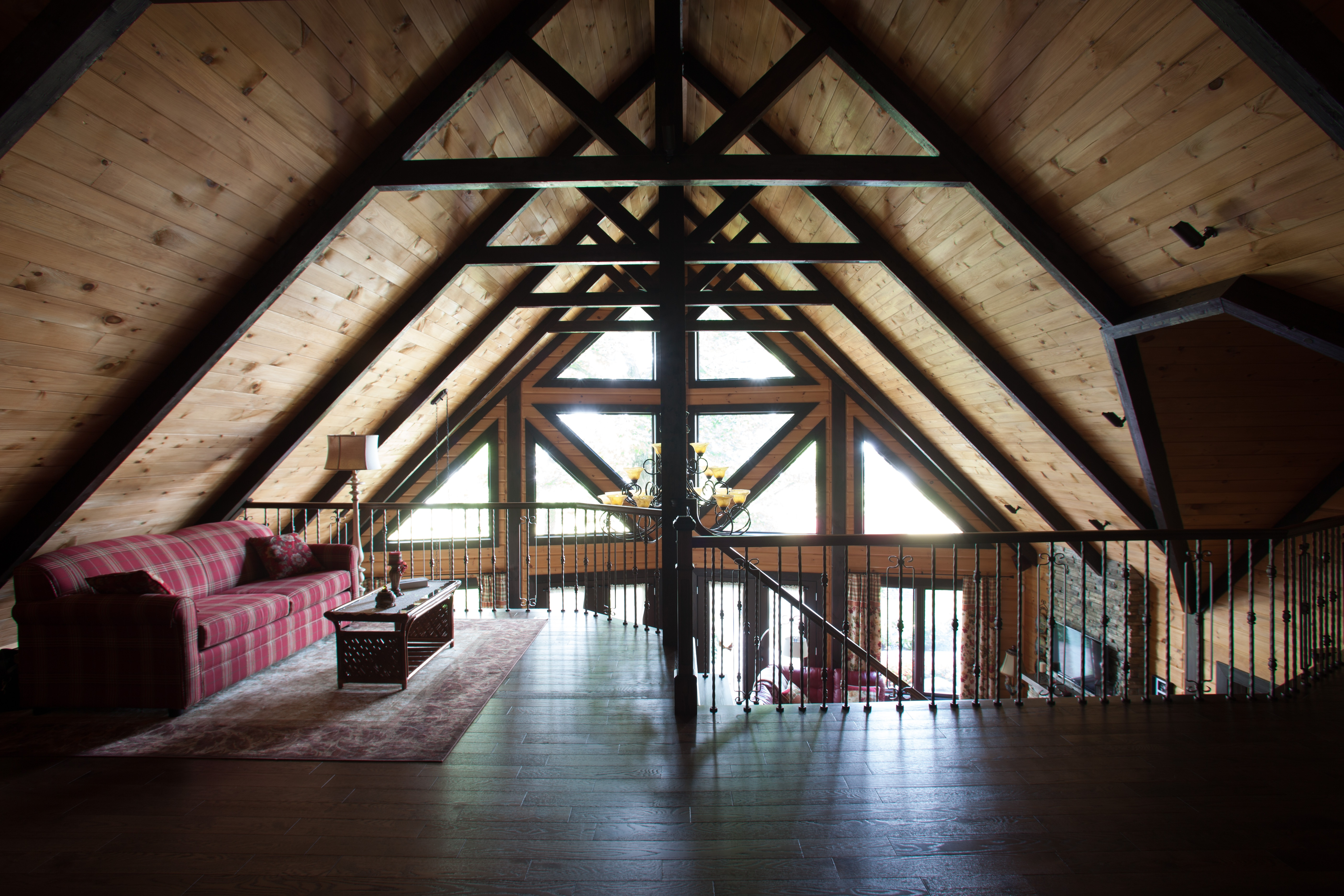 Timber Block custom home design