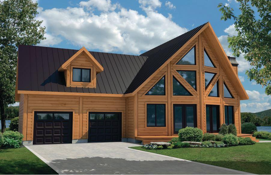 Timber Block Jasper Model