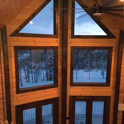 custom Timber Block windows