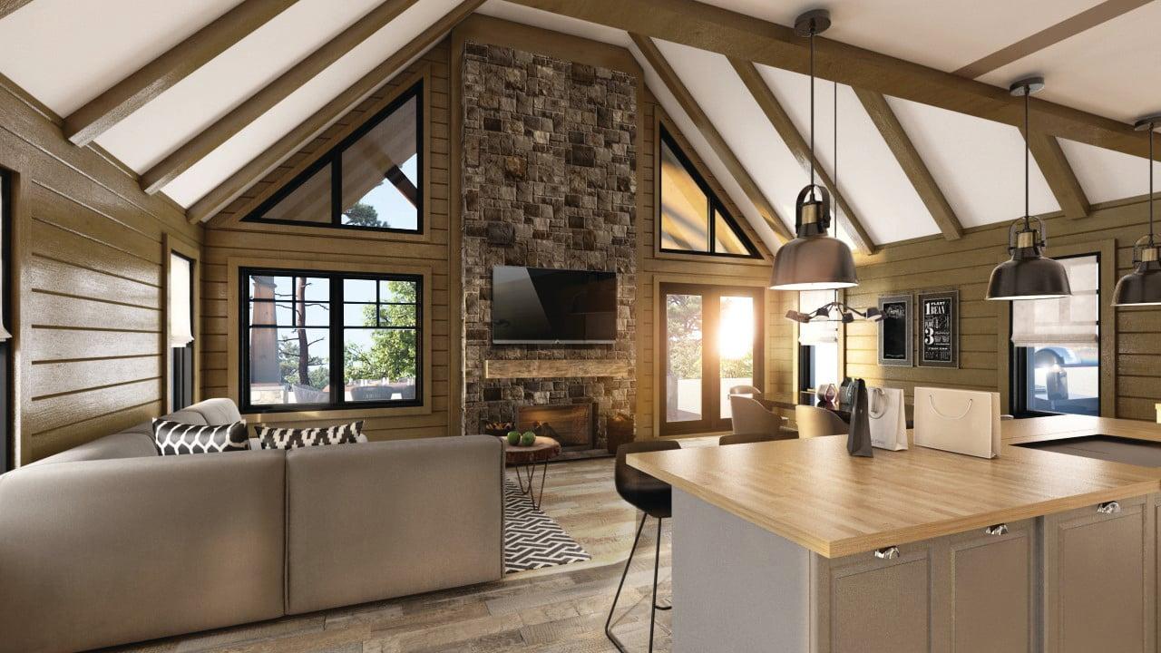 Timber Block Juno Interior