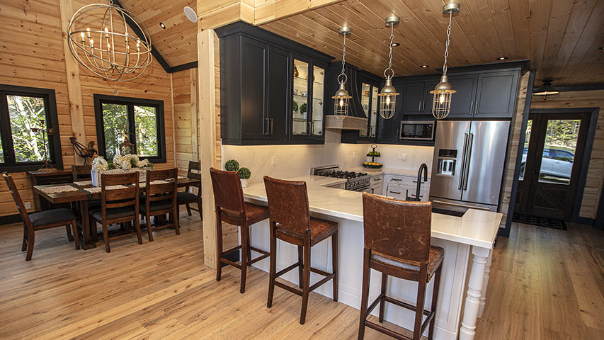 Timber Block dakota kitchen