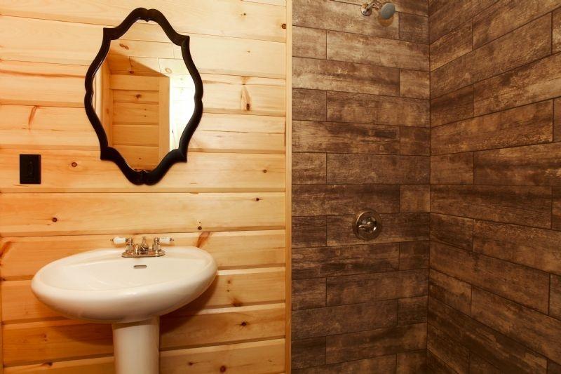 Timber Block home design bath