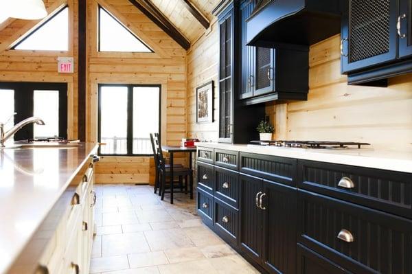 Timber Block open concept design