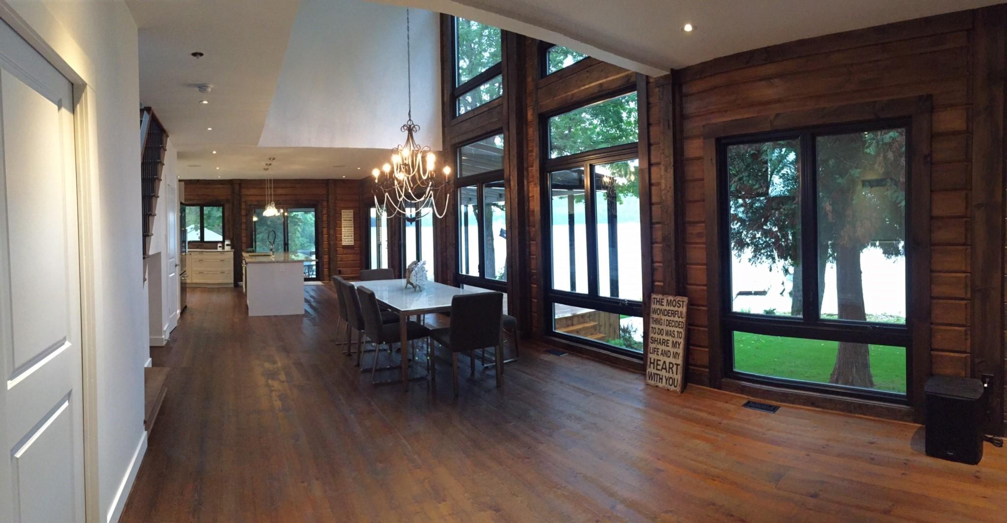 Custom Timber Block Living Room