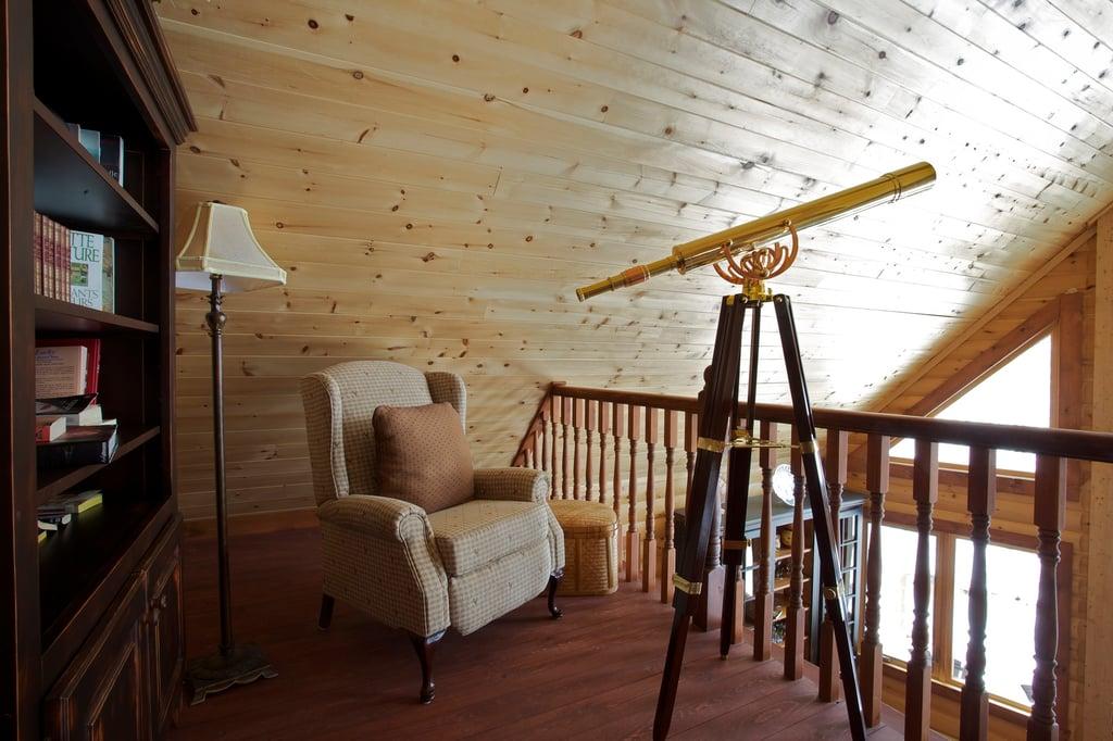 Timber Block loft