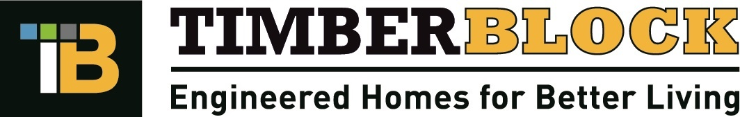 Timber Block English Logo