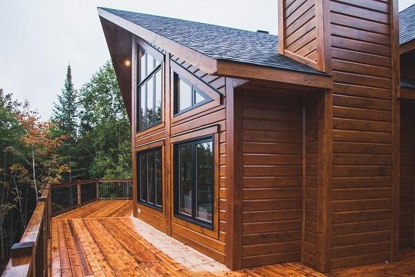 Timber Block Classic Wood Log Home