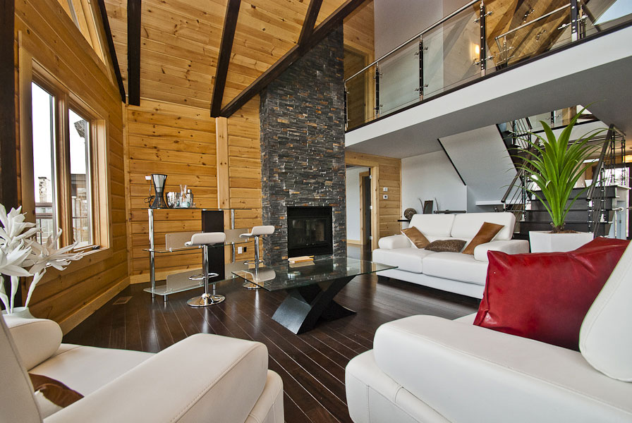 Timber Block interior custom