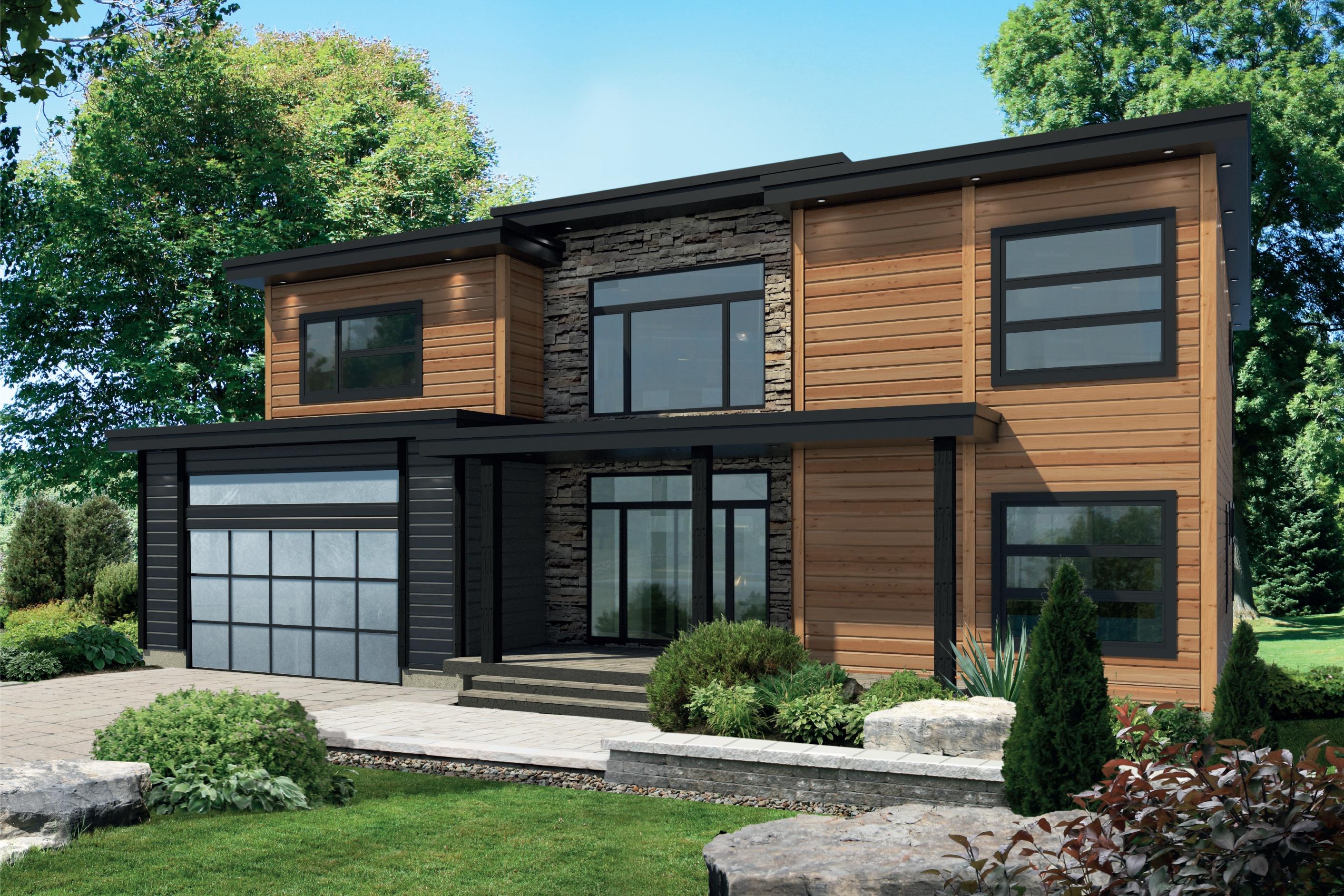 Timber Block Contemporary homes