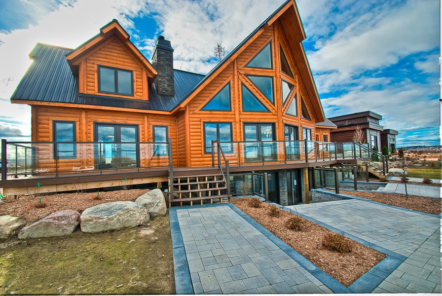 Timber Block Pricing Quebec Model Home