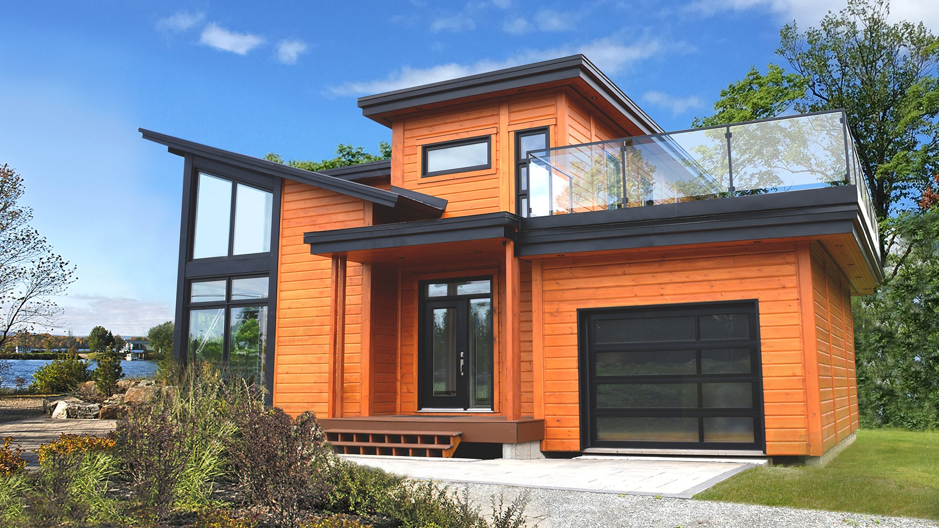 Timber Block Monterey Contemporary home