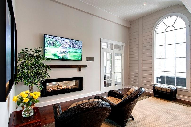 Timber Block living space