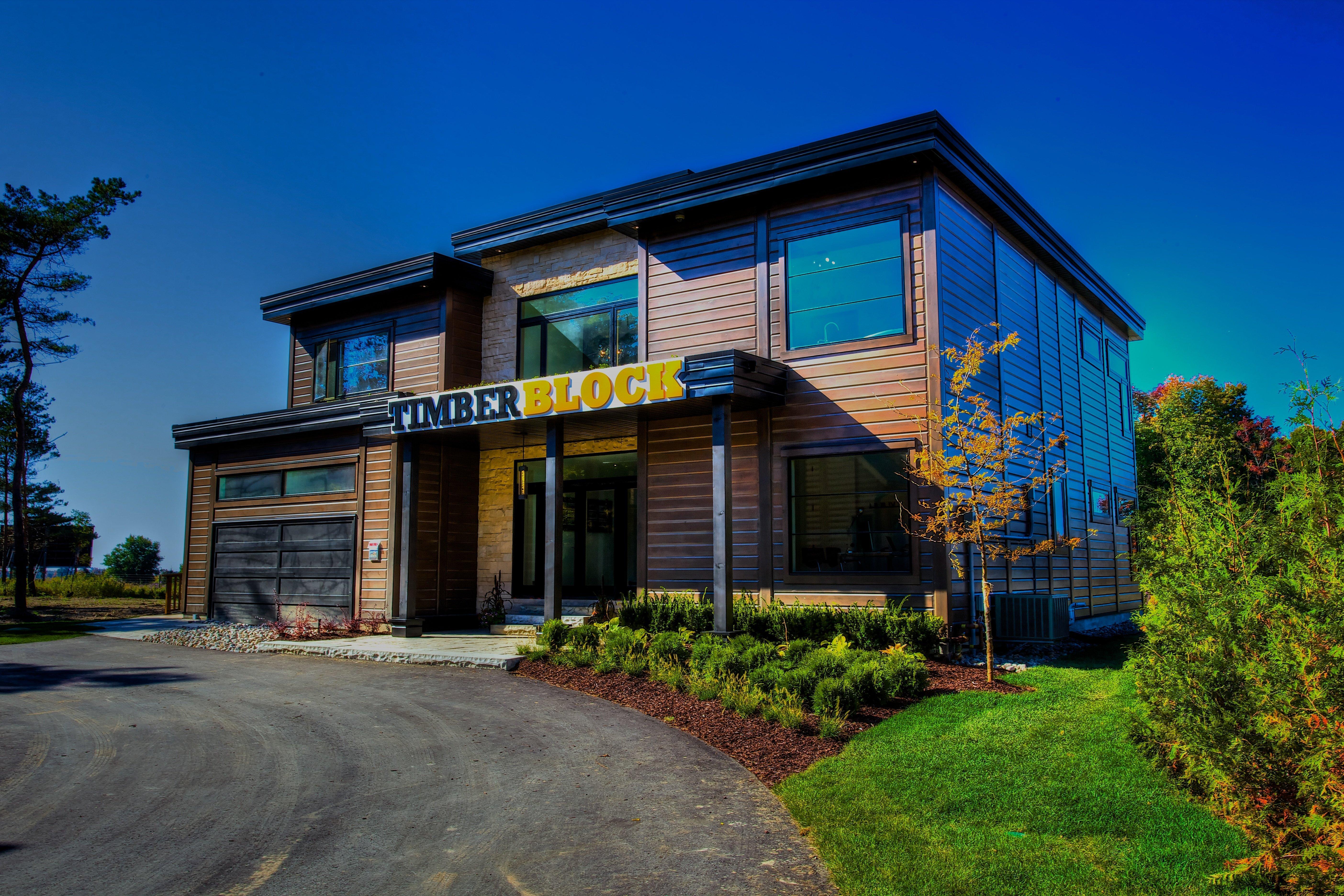Timber Block Milano Model Home Sales Center