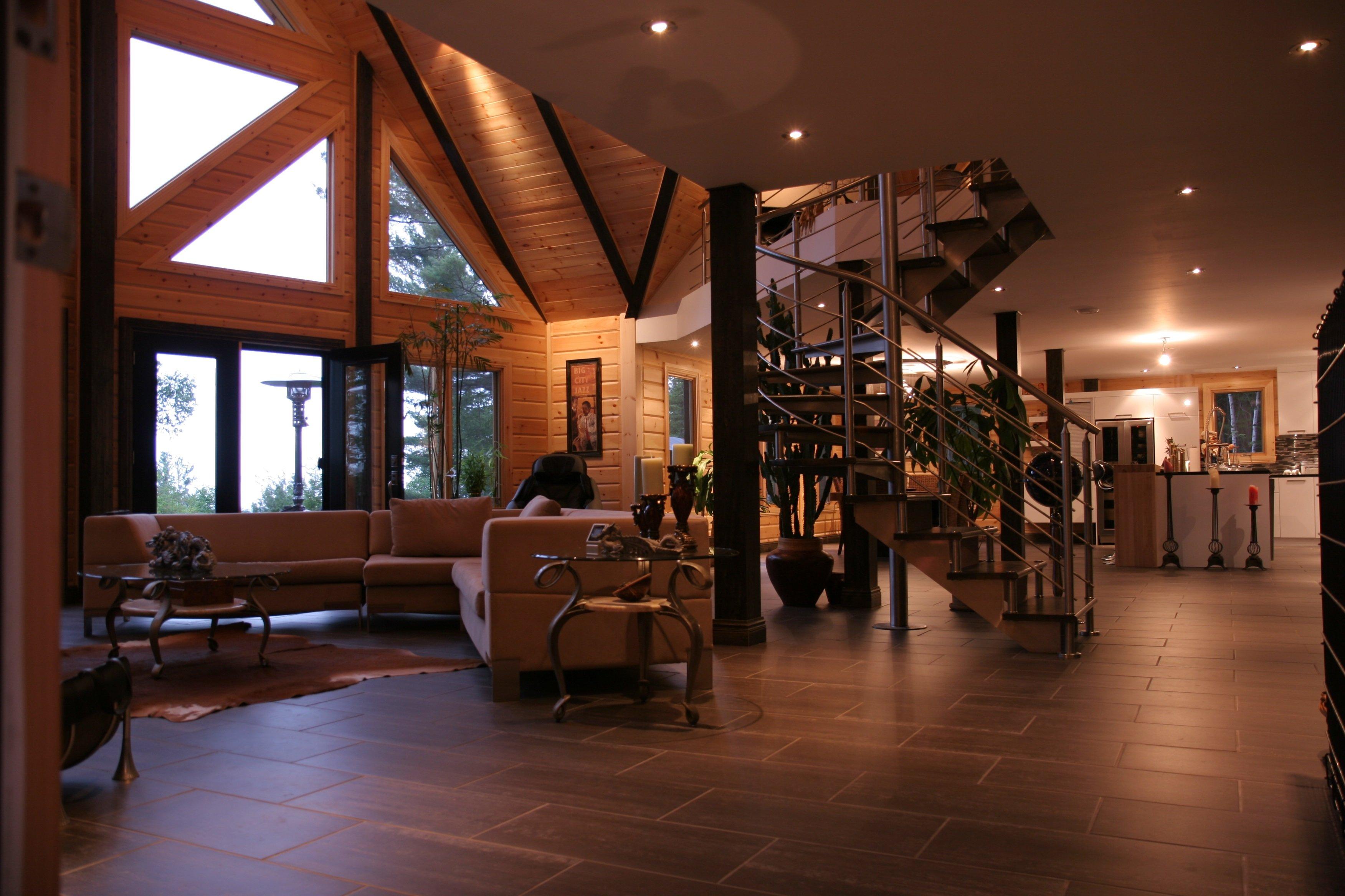 Timber Block Living Room Denver