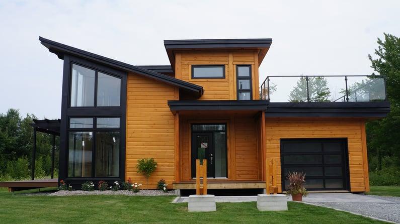 Prix Timber Block Maison Modèle Québec